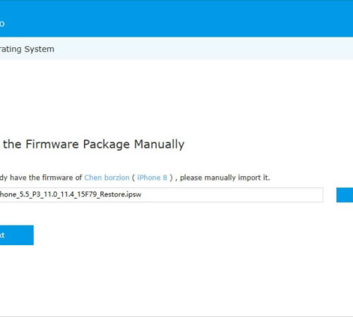 download-firmware-package-manually