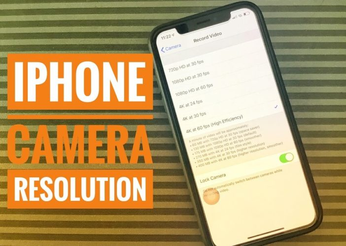 iPhone XS Max and iPhone XR camera Resolution