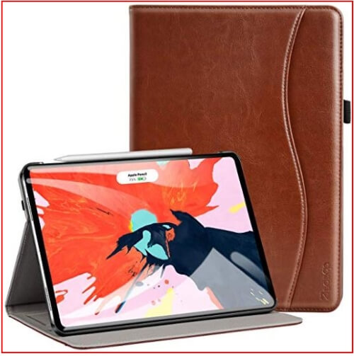 Ztotop iPad pro 11 inch leather kickstand case