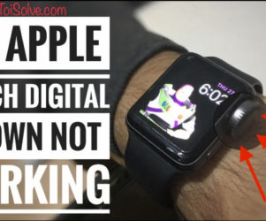 Apple Watch Series 4 Digital Crown button Stuck and not Responding unresponsive scrolling by itself or fell off