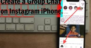 Create a Group chat on instagram iPhone