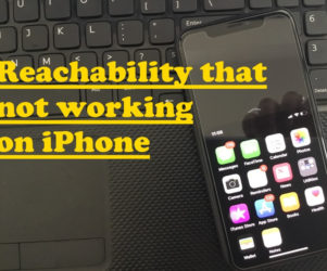 Reachability that not working on iPhone