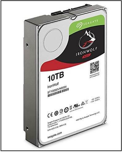 Seagate IronWolf NAS 7200RPM Внешний диск для NAS 2019