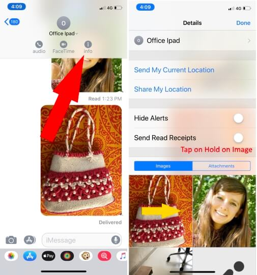 Select Multiple image to save camera roll on iPhone
