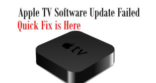 Apple TV Software Update Failed