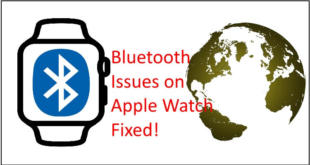 Apple Watch Bluetooth issues fixed