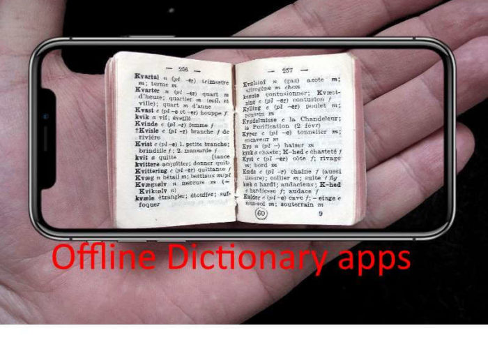Best Offline dictionary apps for iPhone