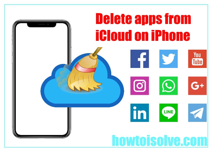 Delete apps from icloud on iPhone and ipad