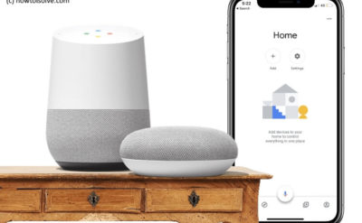 Setup Google Home on iPhone