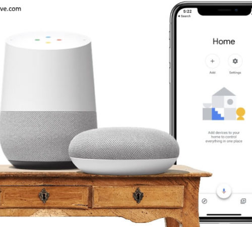 Setup Google Home on iPhone
