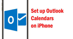 Setup Outlook Calendars on iPhone