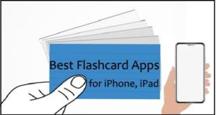 Top best Flashcard Apps for iPhone iPad Mac