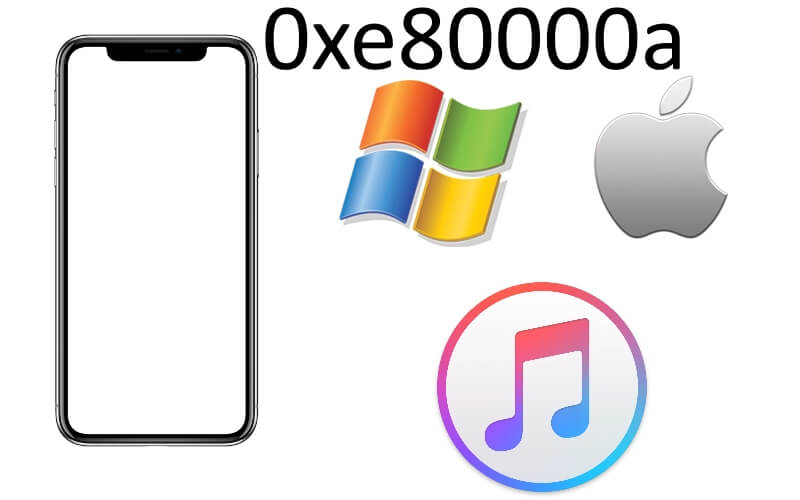 iTunes error 0xe80000a fix on iPhone XS max iPhone XR or iPhone XS
