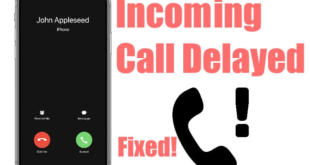 incoming call Delayed or not sounding