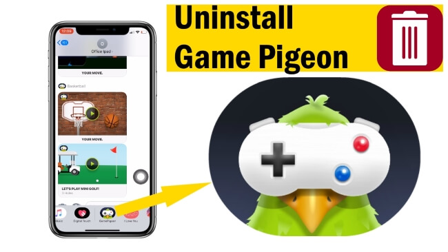 Delete Game Pigeon from iMessage on iPhone and iPad