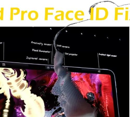 Face ID not Working on iPad Pro 2018 fixed