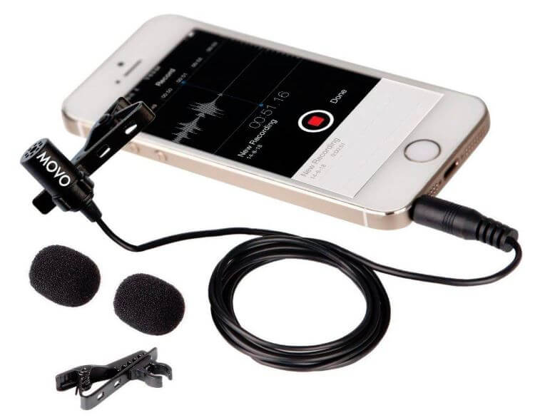 Movo External Microphone for iPhone