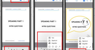 Use PDF Markup Tools on iBooks App on iPhone and iPad