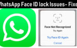 WhatsApp Face ID issues