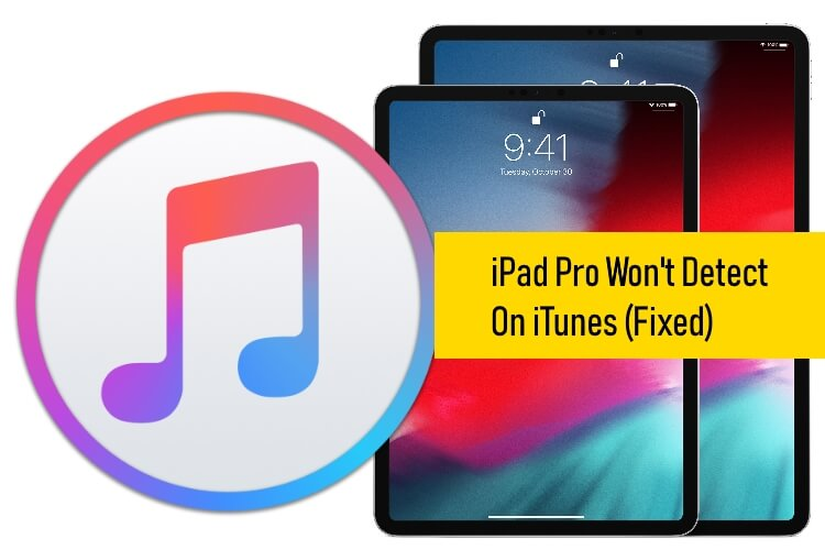 iPad Pro Won't Detect in iTunes on Mac or PC