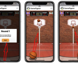 play Basket ball on iPhone in iMessage free