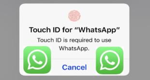 touch id for whatsapp iPhone