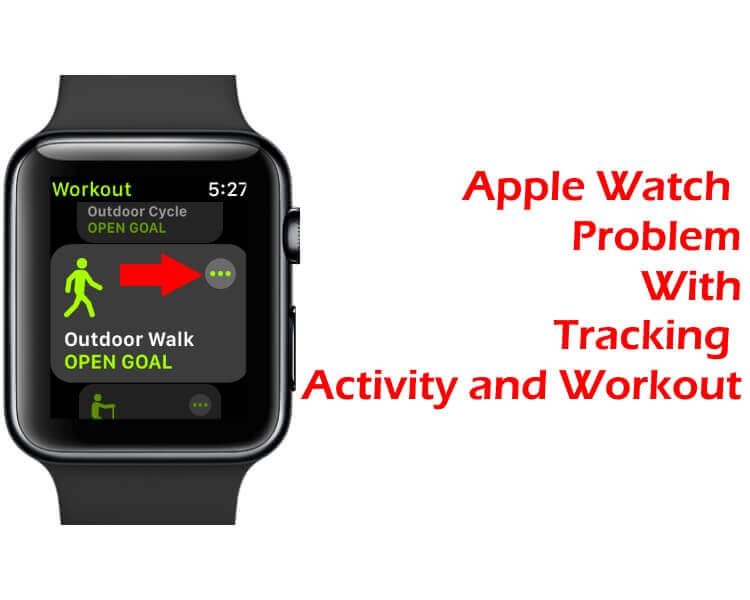 Apple Watch Tracking Activity and Workout