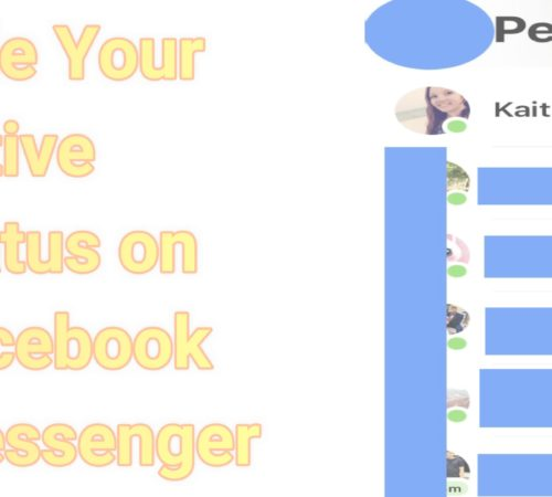 How do I make myself invisible on Facebook messenger