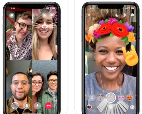 Facebook Messenger as a FaceTime Alternatives