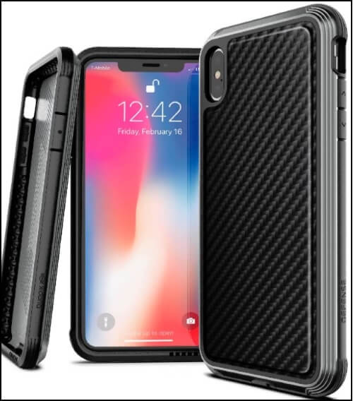 iPhone XS Max Case Defense Lux