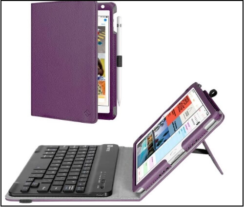Fintie iPad mini 5 Keyboard case with Soft Key and Smart Typing