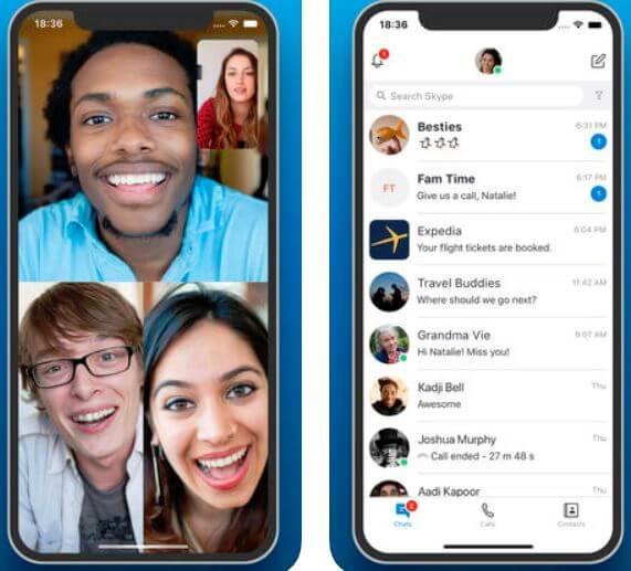 Skype as a FaceTime Alternatives