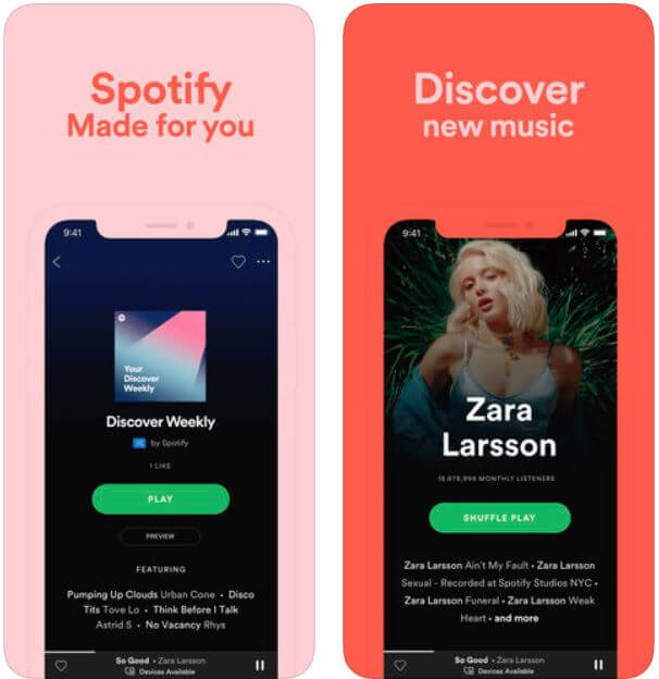 Spotify Podcast app for iPhone