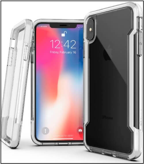 iPhone XS Max Case Defense Clear