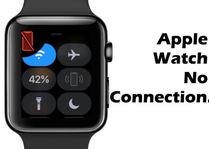 Apple Watch no Connection with iPhone and Disconnected