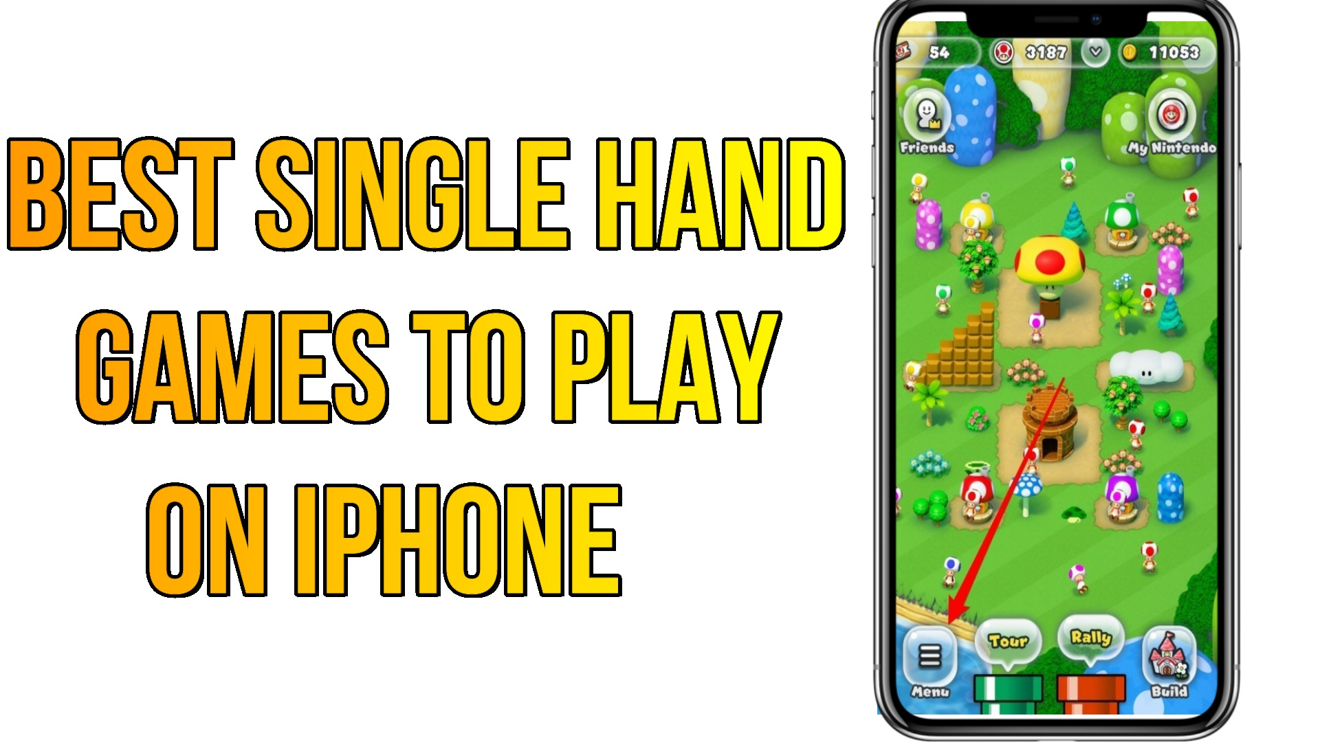 Best Single Hand Games to Play on iOS iPhone