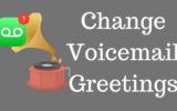 Change Voicemail Greetings on iPhone