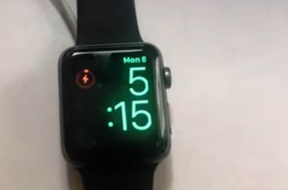 Keep Apple Watch Charging like this