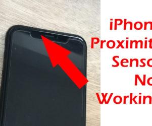 Proximity Sensor on iPhone