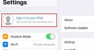 Sign in with Different apple ID on iPhone and iPad
