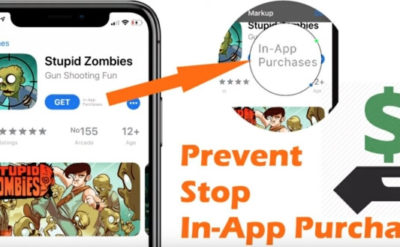 Turn Off In-App Purchases on iPhone XR, iPhone XS, iPhone XS Max