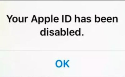 Your Apple ID is disabled on iPhone