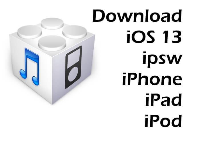 iOS 13 IPSW Download and Install on iPhone