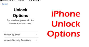 iPhone Unlock Options