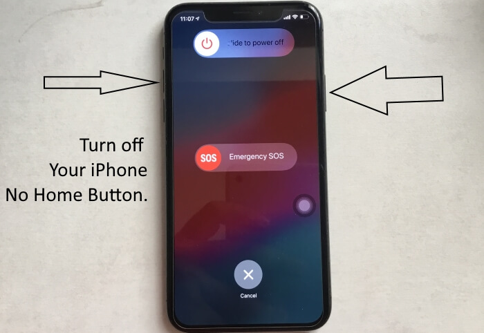 iPhone XS max iphone XS and iPhone XR Turn off screen