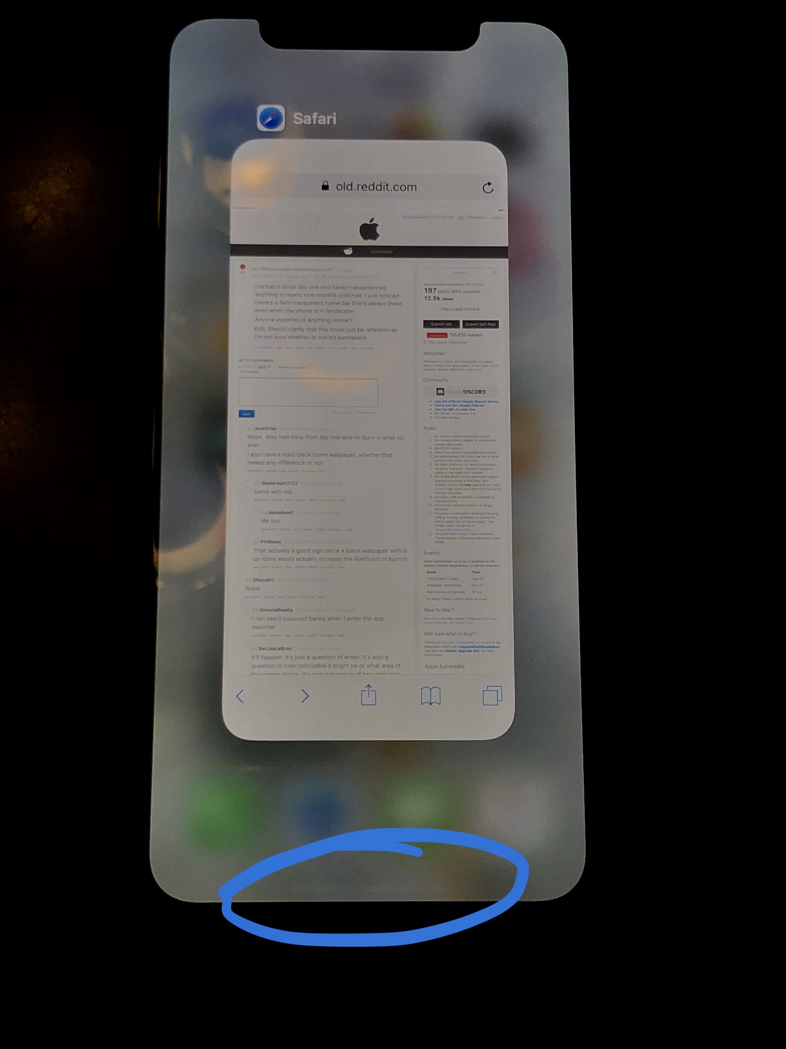 iphone xs burn in scree issues solved