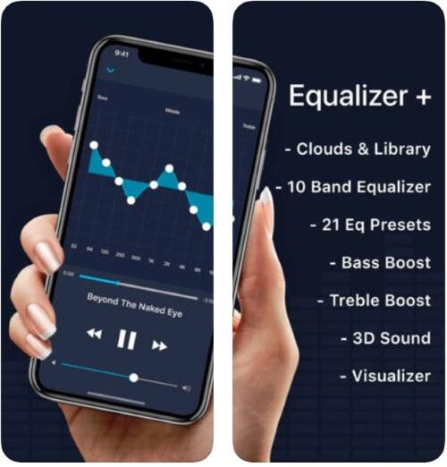 Музыкальный mp3-плеер с эквалайзером для iPhone и iPad