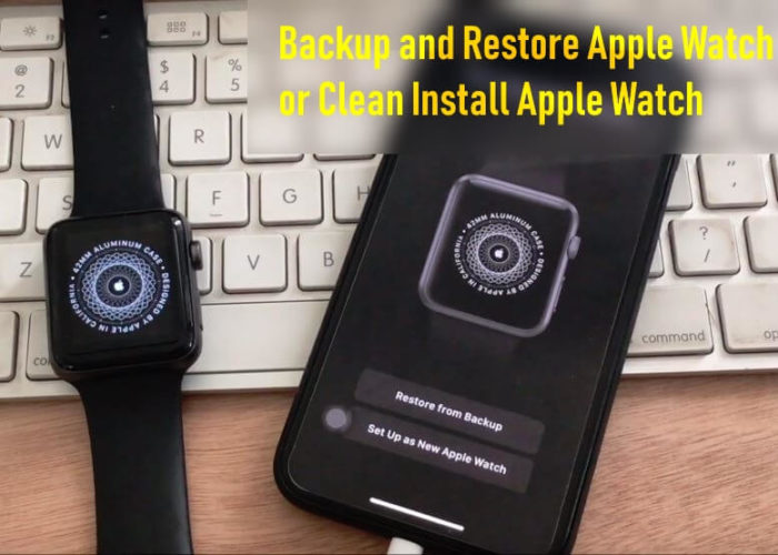 Backup and Restore Apple watch or Clean install WatchOS on Apple Watch