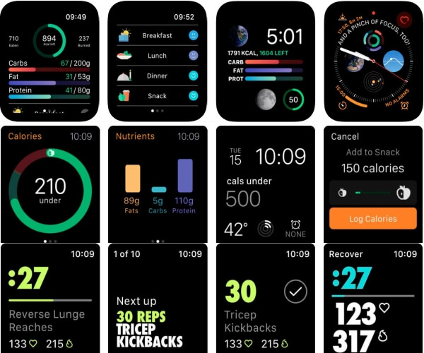Best Apple Watch apps for Weightloss and calorie counter