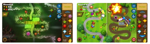 Bloons TD 5 best Tower Game for iOS